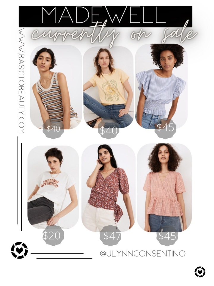 07/29/2021 Madewell: Favorite Finds Currently on Sale for Under$50