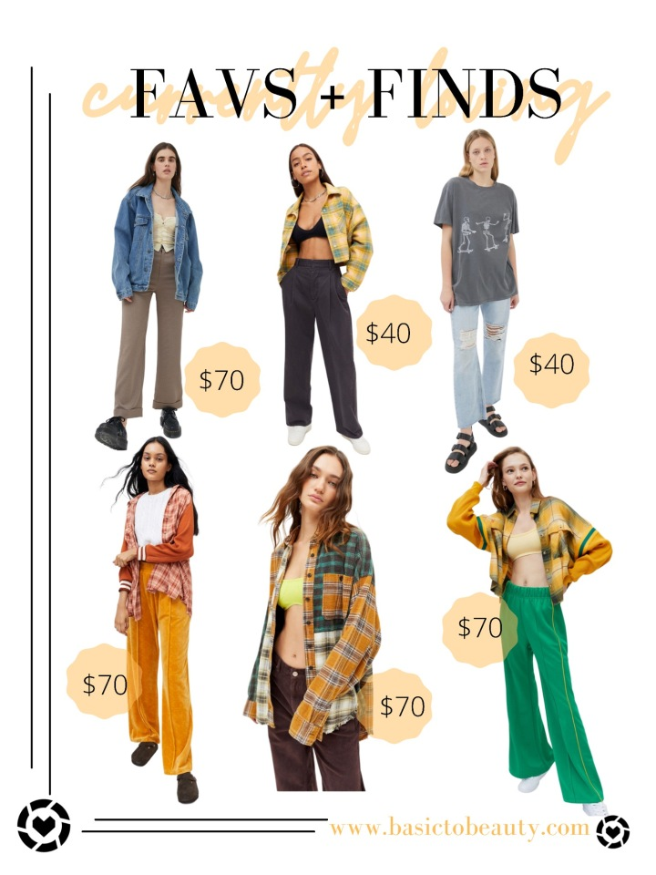 08/31/2021: Urban Outfitters Fall Favorites Under$100