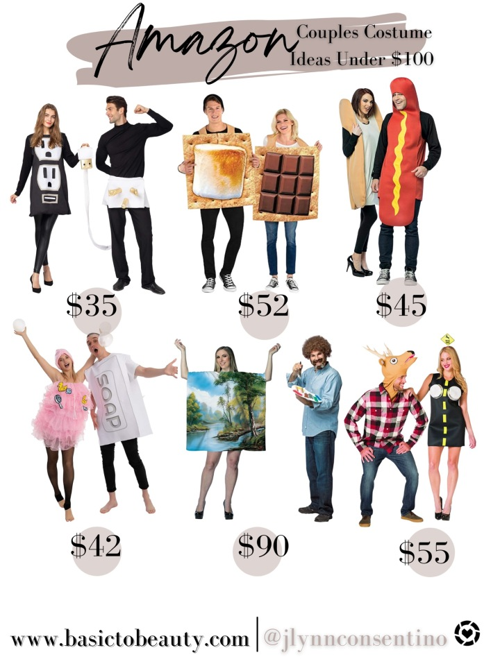 10/14/2021: Amazon Top 6 Halloween Couples Costume Ideas Under$100