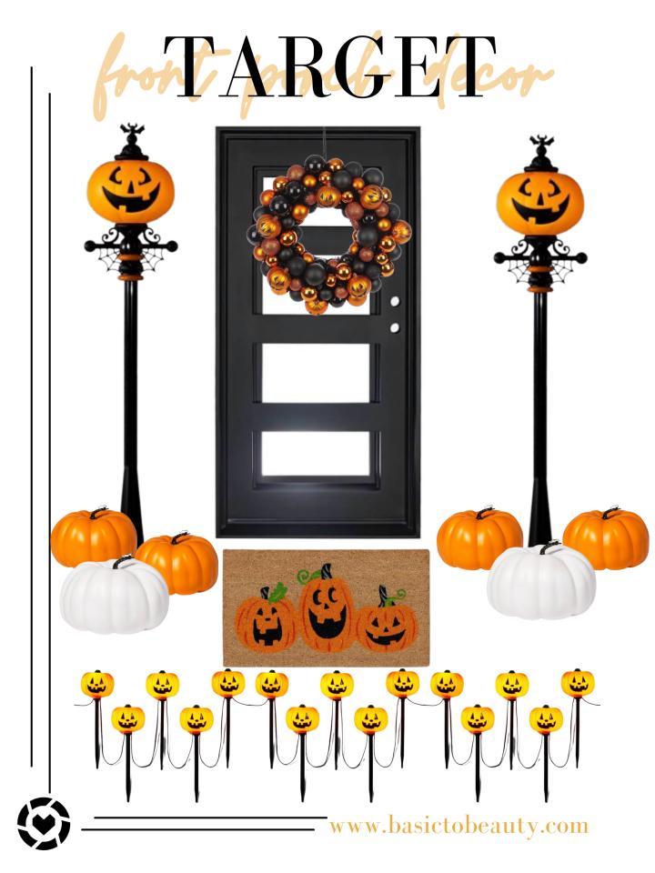 10/04/2021: Target Front Porch Halloween Decor Under$100