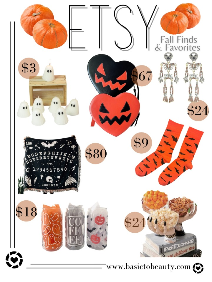 10/07/2021: Etsy Top 7 Fall Finds & Favorites for Less than$100!