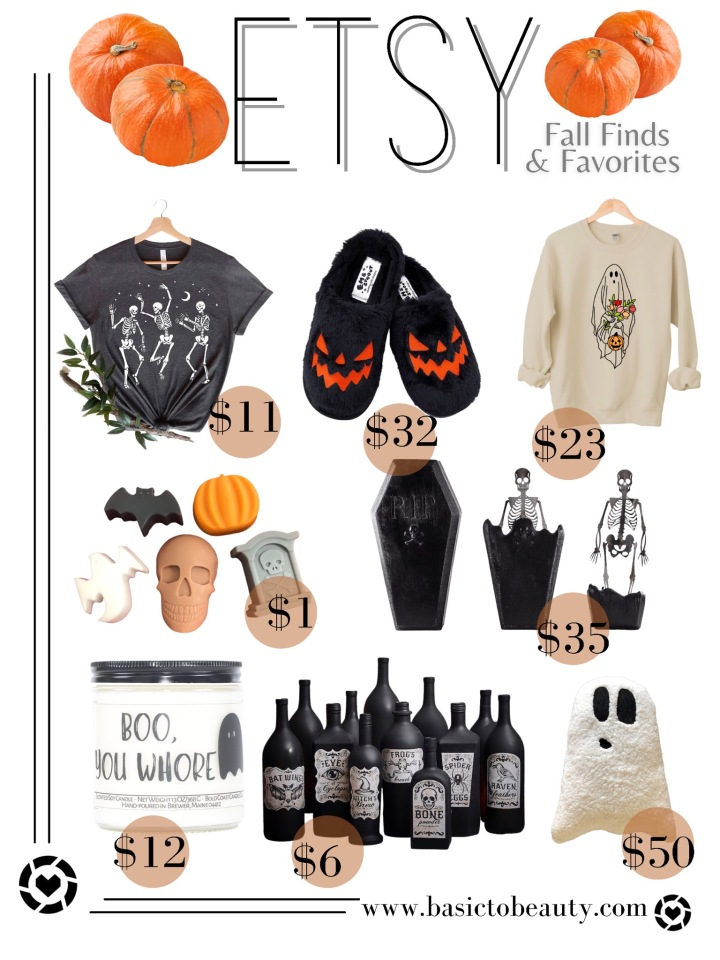 10/05/2021: Etsy Top 8 Fall Finds & Favorites Under$50!